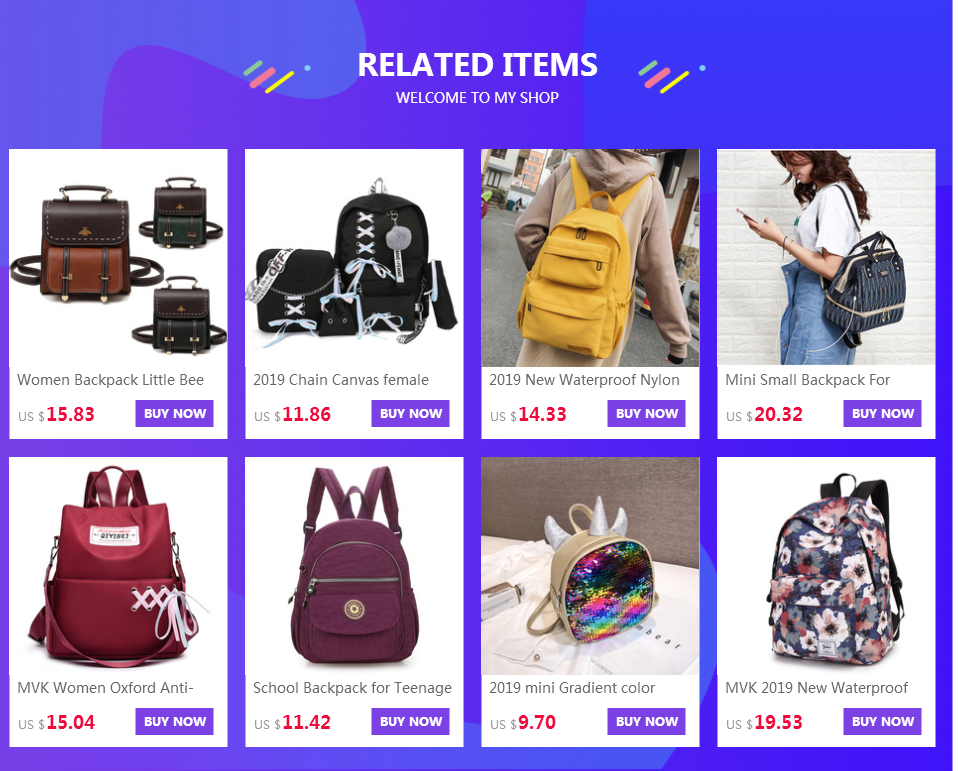 H34adc65be2254617ad96d5237be28336s MVK Women Backpack Little Bee School College Backpack Vintage Pu Leather Preppy Women Famous Backpack Women mochila Dropshipping