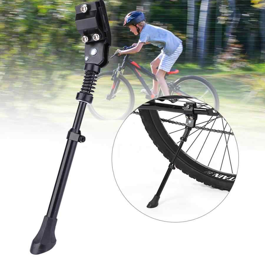 Adjustable Universal Aluminum Alloy Bicycle Bike Kickstand Side Support Parking Stand Foot Bike Foot Support Cycling Accessory