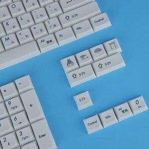 Image 4 - Механическая клавиатура Keycaps японский XDA профиль Keycap PBT краситель сублимированный Keycaps 1.75U 2U ключи для 60 61 64 84 96 87 104 108