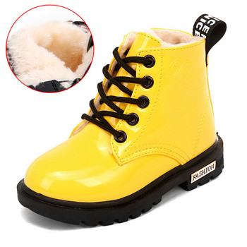 Childrens Boots Waterproof Boys Girls Martin Winter Kids Ankle Short Booties Child Fashion Sneakers