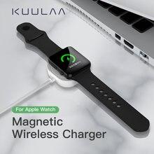 Квадратная Беспроводная зарядка для apple watch магнитное зарядное