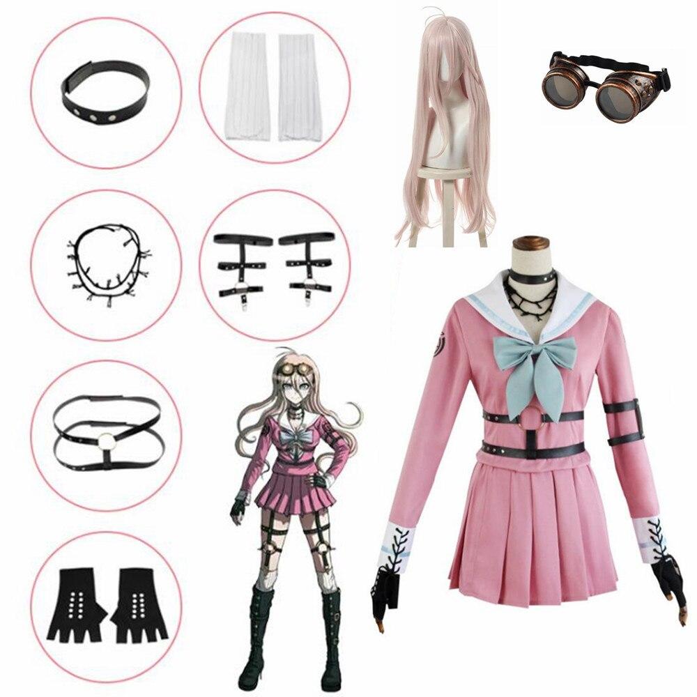 Anime Danganronpa V3 Miu Iruma Cosplay Kostüme Frauen Kleid Mädchen Uniformen kleidung