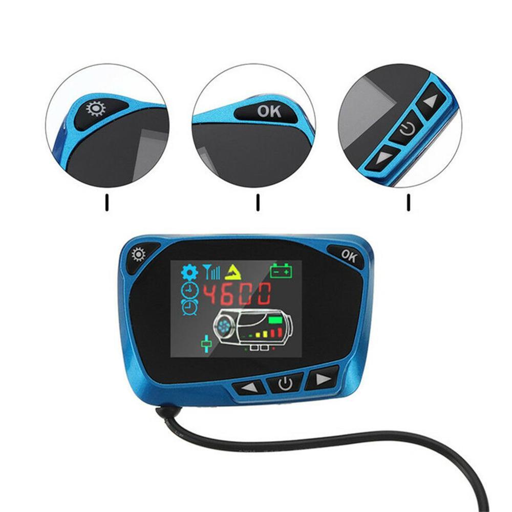 12/24V Parking Heater Controller Schakelaar Lcd Grote Monitor Auto Track Air Diesel Heater Auto Accessoires Afstandsbediening