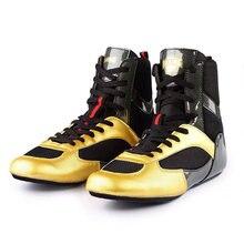 Мужские боксерские кроссовки легсветильник дышащая обувь для