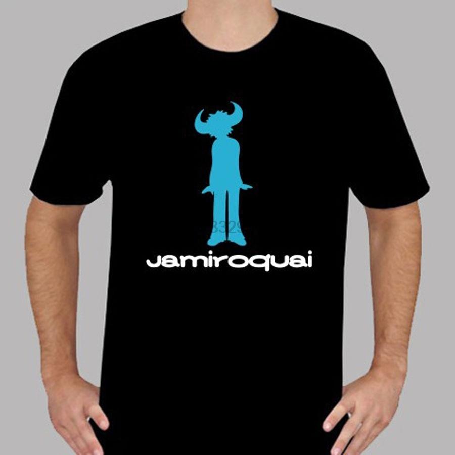 Novo logotipo jamiroquai jay kay alma funk música masculina preto camiseta tamanho s a 3xl legal engraçado t camisa masculina de alta qualidade