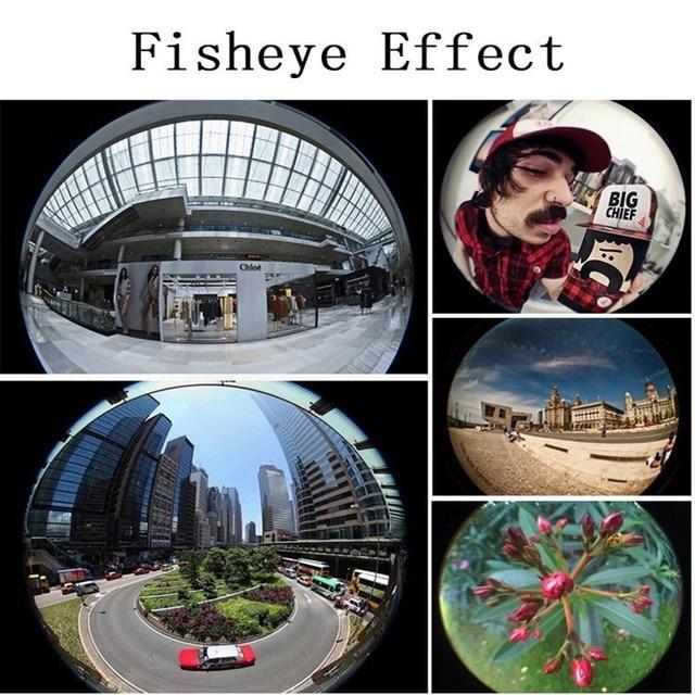 Fish Eye Lens Wide Angle Macro Fisheye Lens Zoom For iphone 7 8 plus XS MAX X Mobile Phone Camera Lens Kit ojo de pez para movil 2