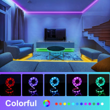 WILLED Under Bed Light RGB Color Changing 5ft LED Strip For Bed Cabinet Bathroom Stairs under bed motion lights