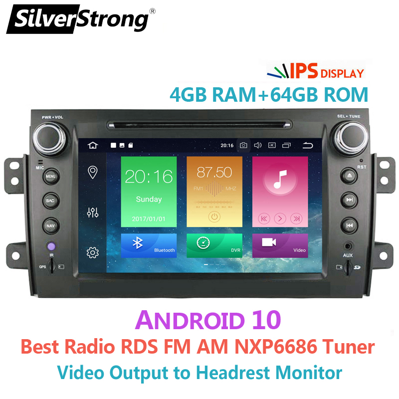 SilverStrong 2Din Android10.0 Car DVD For SUZUKI SX4 Mp3 Audio for FIAT Sedici Navigation GPS SX4 for Suzuki Stereo DSP|car dvd|2din androidandroid 2din - AliExpress