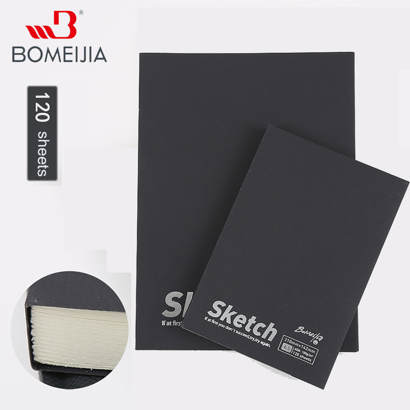 A4/A5 Sketch 120 Sheets Book Stationery Vintage Notebook Notepad Sketch Book For Paiting Drawing Creative Gifts Art Supplies