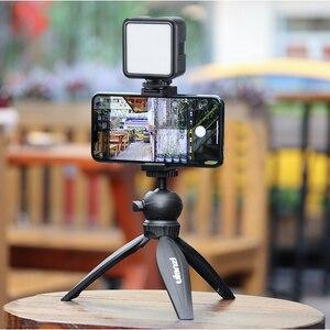 Image 4 - Ulanzi Vlog Living Stream Kit Youtube Kit Mini Tripod Phone Mount Record Microphone Kit Extend Tripod Vertical Shooting