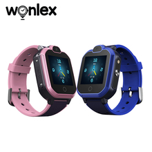 Wonlex KT30 Smart-Watches Kids Anti-Lost GPS Tracker 4G WIFI SOS Video Call Baby Gift Smartwatch Android Mini Sim-Card Telephone