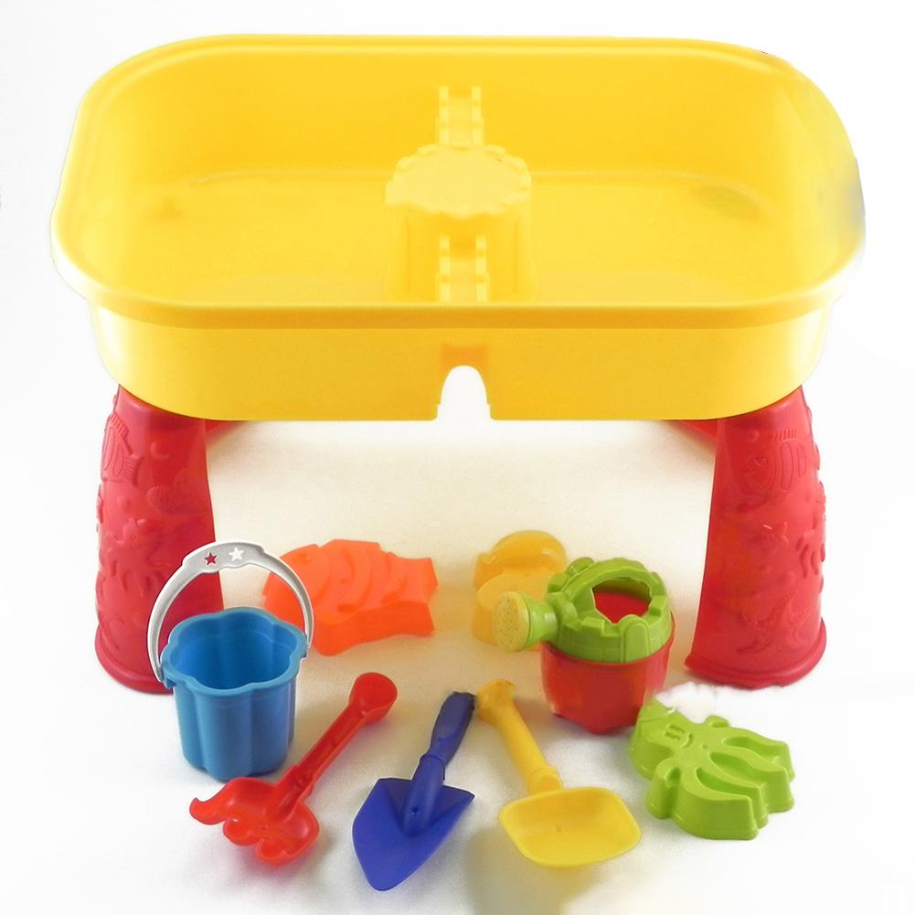 Sandpit Toys Sand Bucket Table Play Set Toys Outdoor Beach Sandpit Toys Sand Children Learning Education Toy Baby Birthday