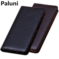Luxury business genuine leather phone bag case card holder for OPPO A9 2020/OPPO A5 2020/OPPO A5S/OPPO AX5S phone holster case