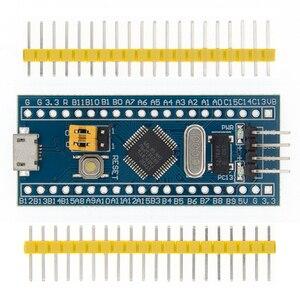Image 2 - 10 قطعة/الوحدة STM32F103C8T6 ARM STM32 الحد الأدنى تطوير نظام مجلس وحدة