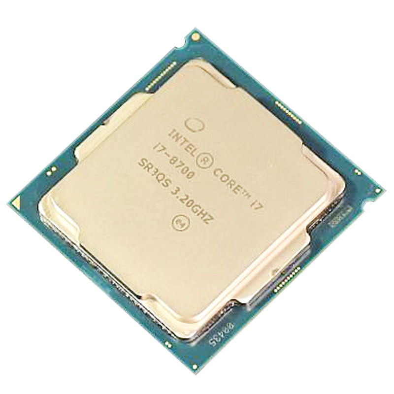 Intel Core i7-8700 i7 8700 Six-Core Six thread 6 Core 6 thread Twelve-Thread CPU Processor 12M 65W LGA 1151