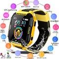 2019 Nova 4G Crianças Relógio Inteligente GPS Posicionamento Anti-Criança perdida smartwatch Wi-fi Relógio Chamada de Vídeo Do Bebê À Prova D' Água crianças Relógios + Box