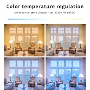 Image 5 - GLEDOPTO LED 6W RGB+CCT led bulb Zigbee smartLED bulb e26e27 AC100 240V WW/CW  rgb led bulb dimmable light dual white and color