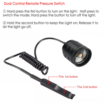 Remote Light Switch Lowes | UniqueFire T20 IR 940NM 38mm Convex Lens 3 Modes Flashlight Infrared Light Night Vision Torch With Dual Control Remote Switch