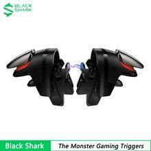 Oryginalny czarny rekin potwór wyzwalacze gier dla czarnego rekina 4 3 Pro strzelanie magnetyczny Gamepad Joystick dla iPhone 12 Rog 5
