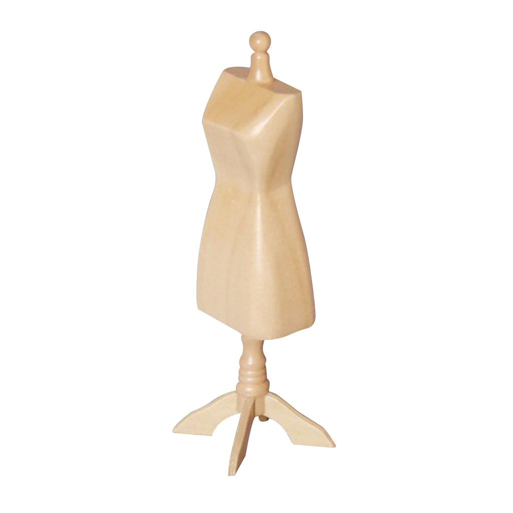 1/12 Présentoir de poupée Robe Vêtements Mannequin Modèle Stand Support Étagères Pour La maison De poupée