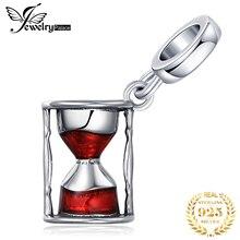 JewelryPalace песочные часы стерлингового серебра 925 оригинальный бусины подвески для браслета оригинальных ювелирных изделий