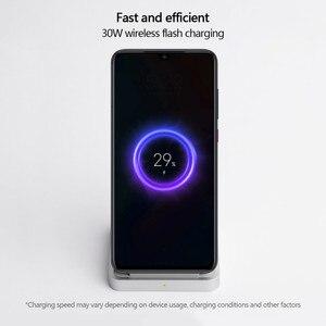 Image 5 - 원래 xiao mi 수직 공냉식 무선 충전기 30 w 최대 플래시 충전 xiao mi mi 9 pro 5g mi mi x 3 for iphone 11