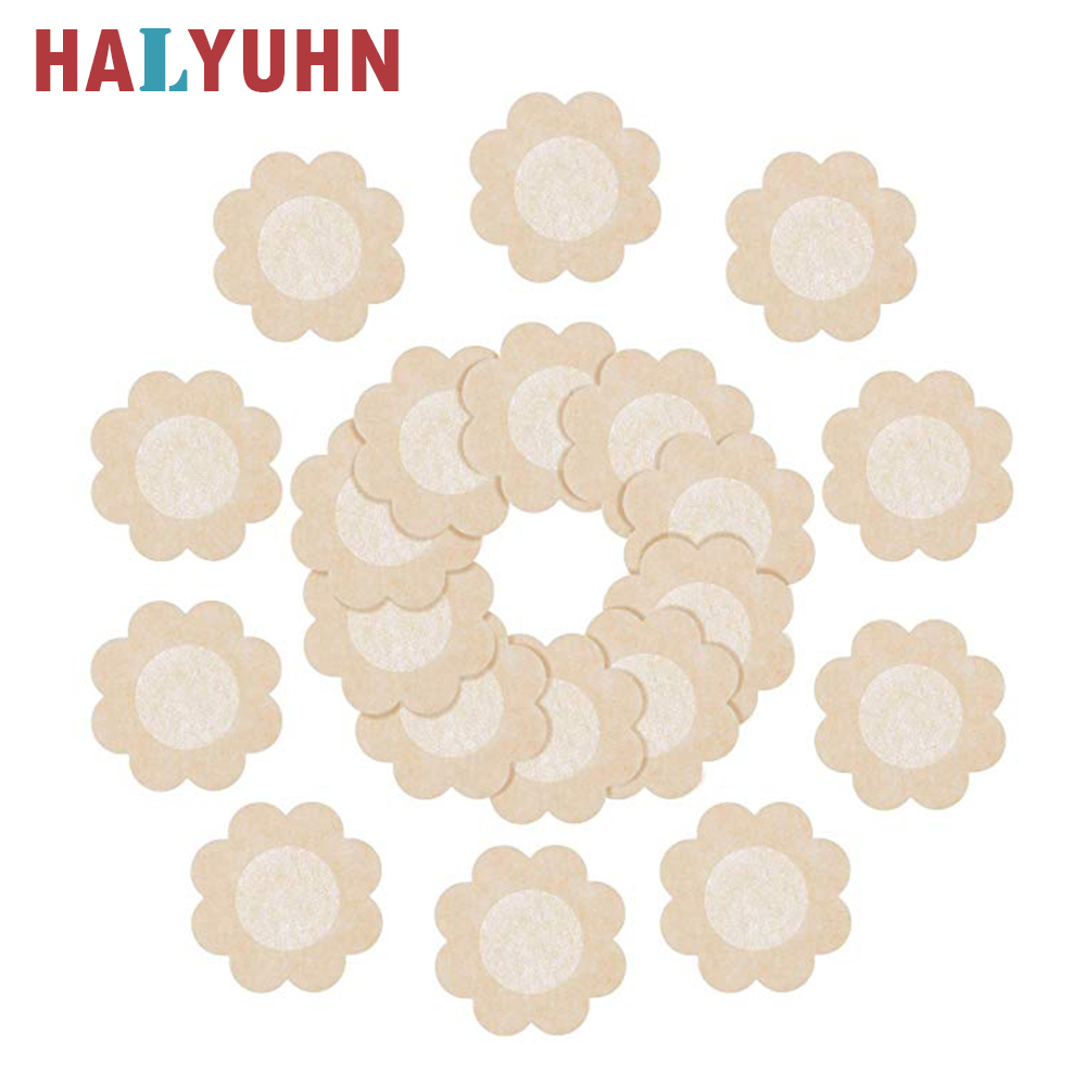 HALYUHN Disposable Nipple Cover With Independent Beautiful Packaging Bag Cover Nipple Stickers Pasties Stick On Bra Nipplecovers