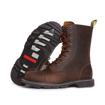 Hiking shoes Men Hunting Boots Tactical shoes Desert Combat Ankle Waterproof sneakers Leather Snow walking high-top Women's shoe 4