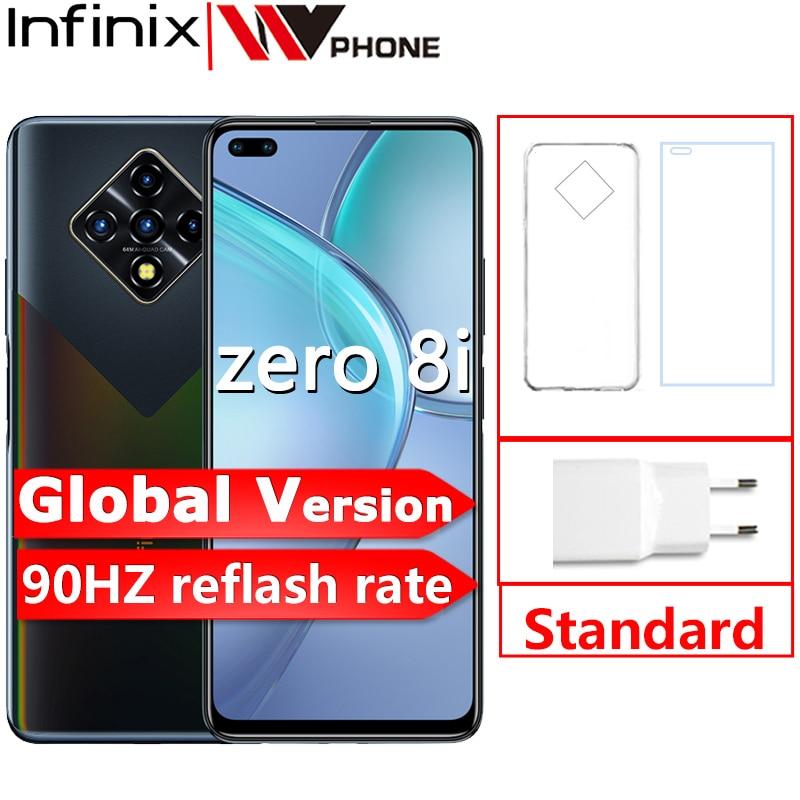 Глобальная версия Infinix Zero 8i 8 ГБ 128 мобильный телефон 6,85