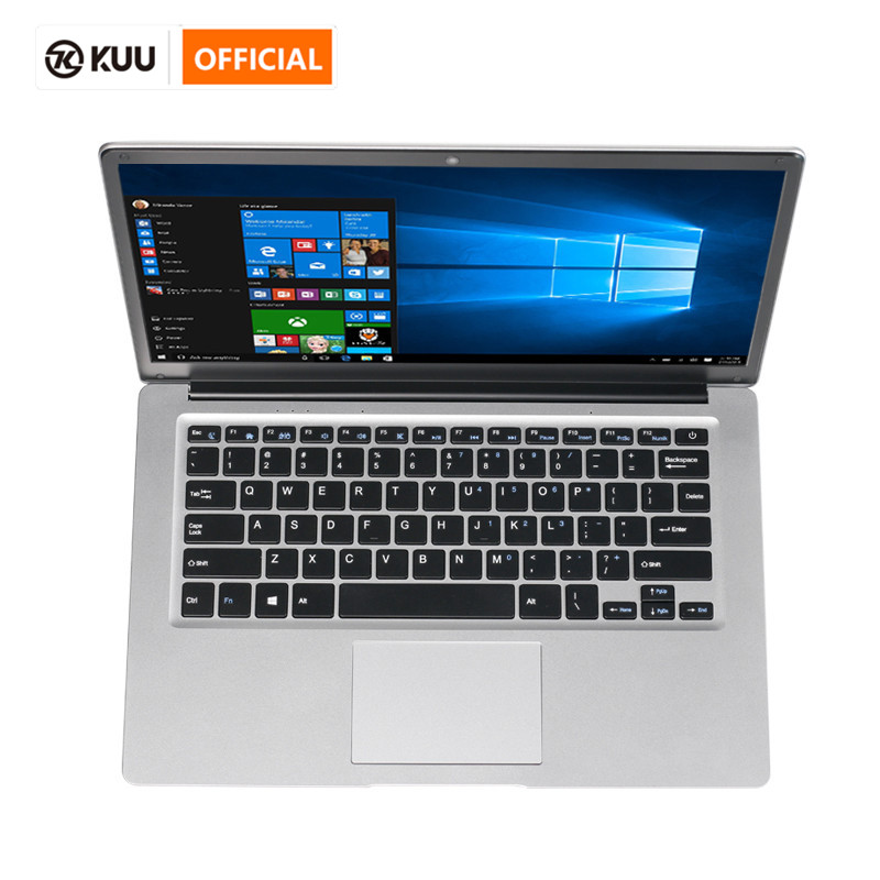 14.1 Inch Cheap Laptops With Windows 10 Student Laptop 4GB RAM 64GB ROM Notebook With WiFi Webcam For Movies Work Internet Class