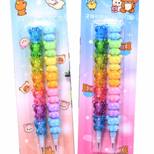 Non-Sharpening-Pencils Stationery Office-Supplies Colorful School Bear Kids Cute Set
