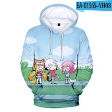 Popular anime gacha vida 3d hoodies das mulheres dos homens crianças primavera outono moda camisolas harajuku meninos meninas gacha vida topos kawaii