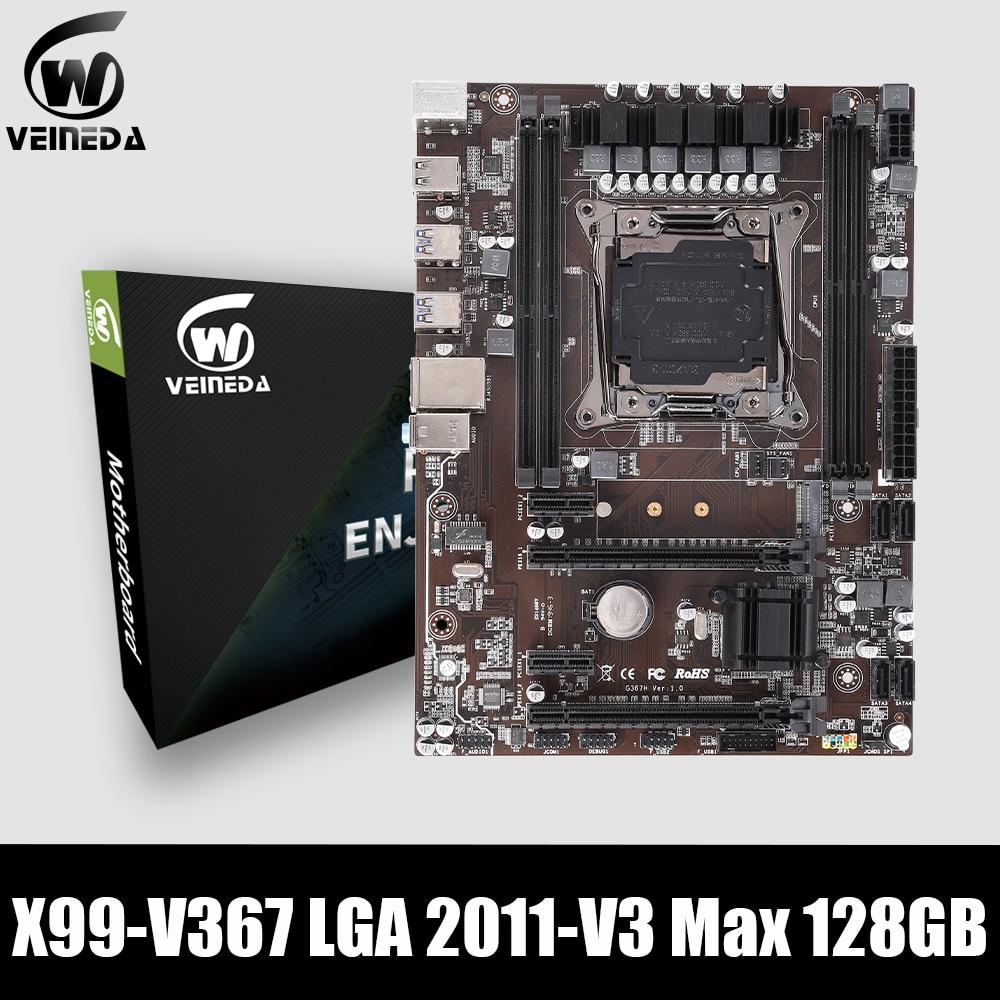 VEINEDAX99 ddr4 Desktop motherboard LGA2011 V3 V4 USB3.0 NVME M.2 WIFI SSD support DDR4 memory and Xeon E5 V3 processor Motherboards    - AliExpress
