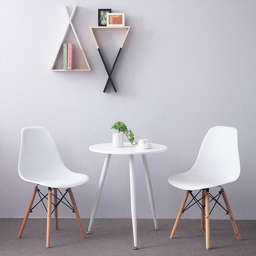4 pièces/ensemble nordique dinant la chaise créative moderne minimaliste chaise de bureau ordinateur chaise thé café tabouret pour la maison étude chambre HWC