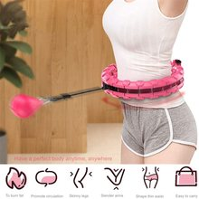 Spor spor Hoop akıllı yükseltme akıllı spor Hoop ayarlanabilir ince bel egzersiz spor Hoop Fitness ekipmanları ev eğitimi