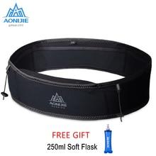 AONIJIE W938S Running Waist Belt Bag Unisex Gym Sports Fanny Pack Trail Running Belt Invisible Fanny Waist Pack Marathon Bag