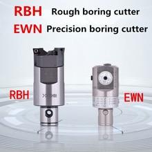 CNC Adjustable RBH Twin bit RBH 40-55mm Twin-bit Rough Boring Head CCMT09T304 used for BT40 LBK deep holes boring tool New