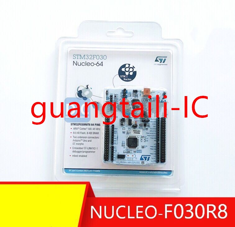 NUCLEO-F030R8 STM32 Nucleo Development Board For STM32 F0 Series With STM32F030R8T6 MCU