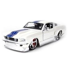 Maisto 1:24 1967 Ford Mustang GT Sport Auto Statico Pressofuso Veicoli Da Collezione Modello di Auto Giocattoli