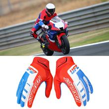 Outdoor Use 1Pair Durable Power Sports Motorcycle Motocross Gloves Polyester Full Finger Glove Breathable   for Climb
