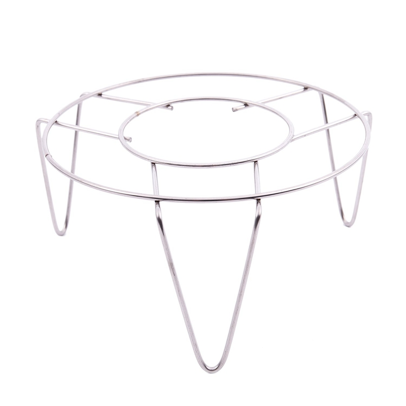 HLZS-stainless Steel Steamer Rack Stand Kitchen Cooking 3 Inch High