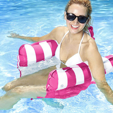 Bed Swimming-Pool-Mattress Inflatable Floating-Bed Water-Hammock-Toys Portable-Parts
