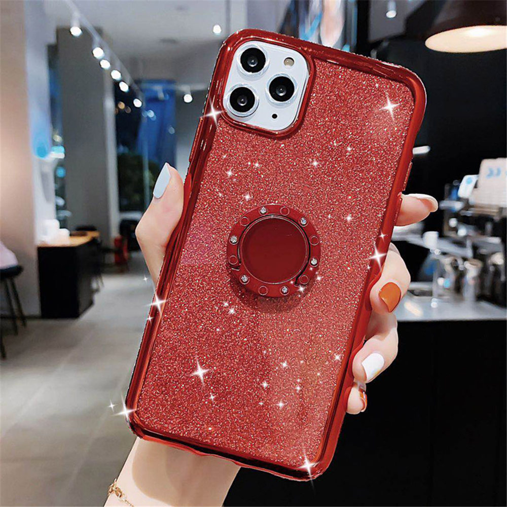 Jewelled Clear iPhone Case 10