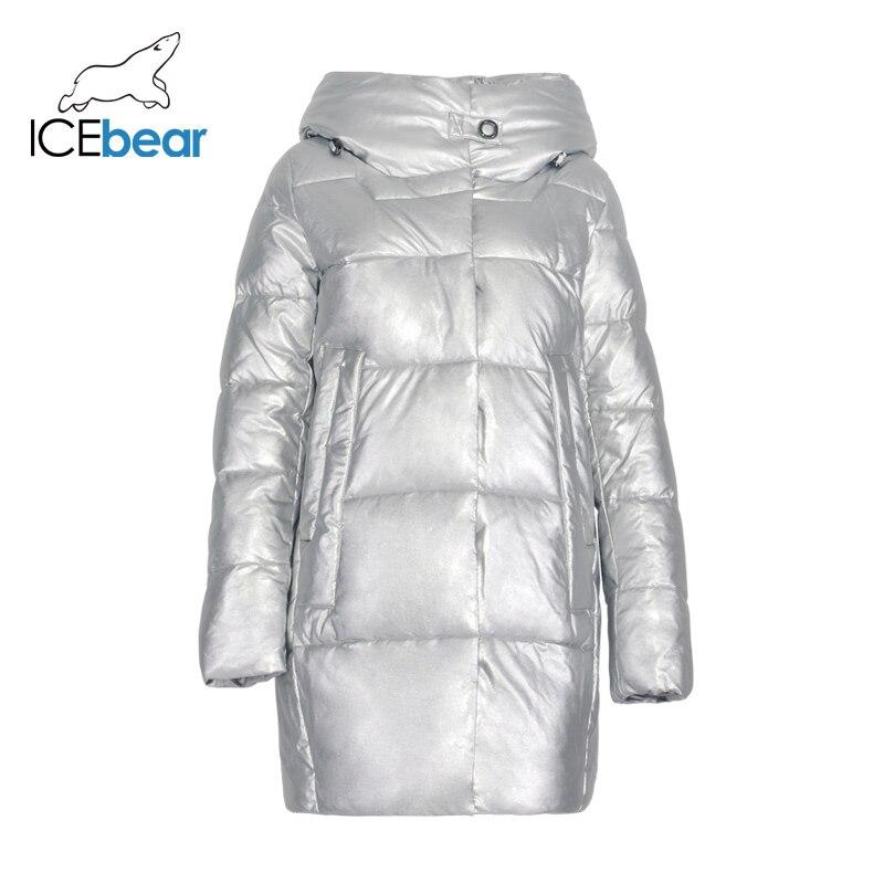 2019 Новое Женское зимнее пальто, Высококачественная Женская одежда, брендовая куртка, модные женские парки GWD19141I