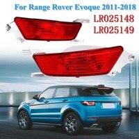 LR025148 LR025149 1 Pair with bulb rear Reflector DRL Bumper Fog Light Lamp for Range Rover Evoque 2012 2013 2014 2015 2018|Signal Lamp|   -
