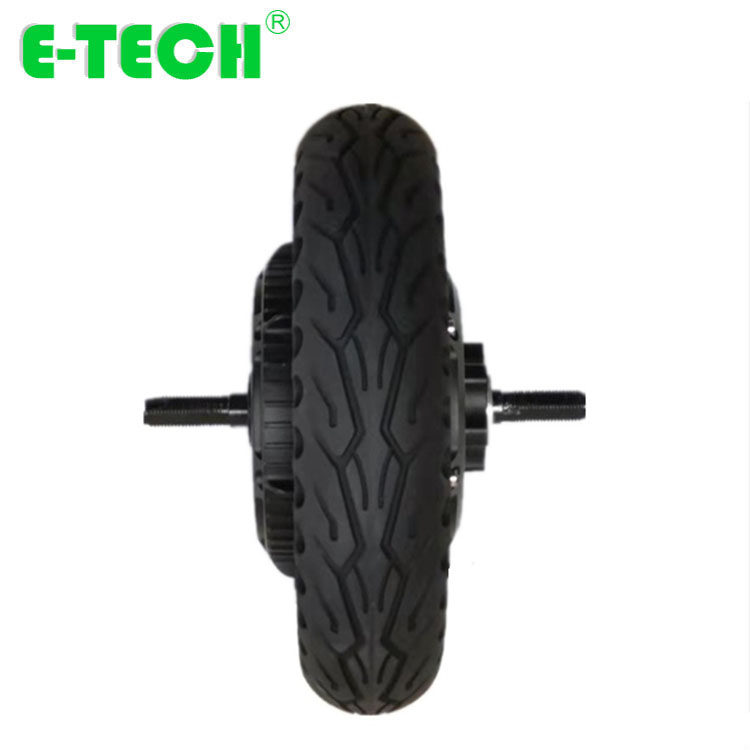 500W-1000W 10 Inch Inflatable Tire Scooter Motor Electric Vehicle Motor Brushless DC Motor