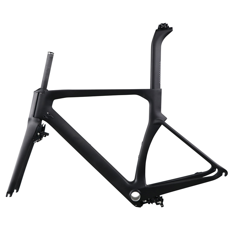 Discount 2019 Hidden Brake Carbon Aero Road Bike UD Matte Finish Bb86 Xs Size T700 Bicycle Frames