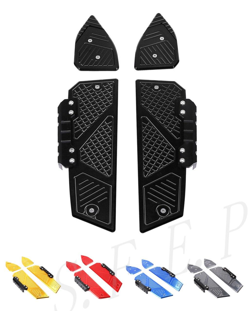 Мотоцикл с ЧПУ педали для ног колышки для ног пластины колодки подходят для Honda PCX 150 PCX 125 2018 2019 2020