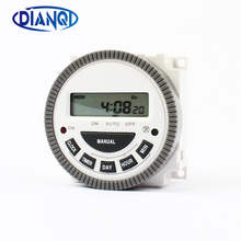 Timer-Controller DIANQI Digital Weekly-Programmable TM619 230V Hour/minute-Count Home