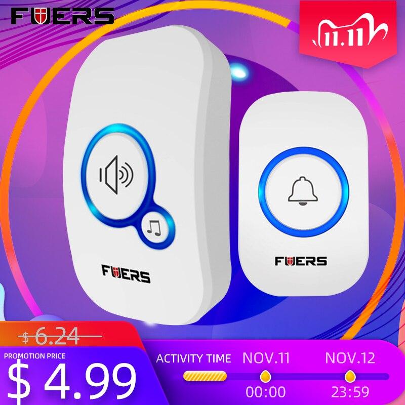 Купить беспроводной дверной звонок fuers m557 внешний беспроводной